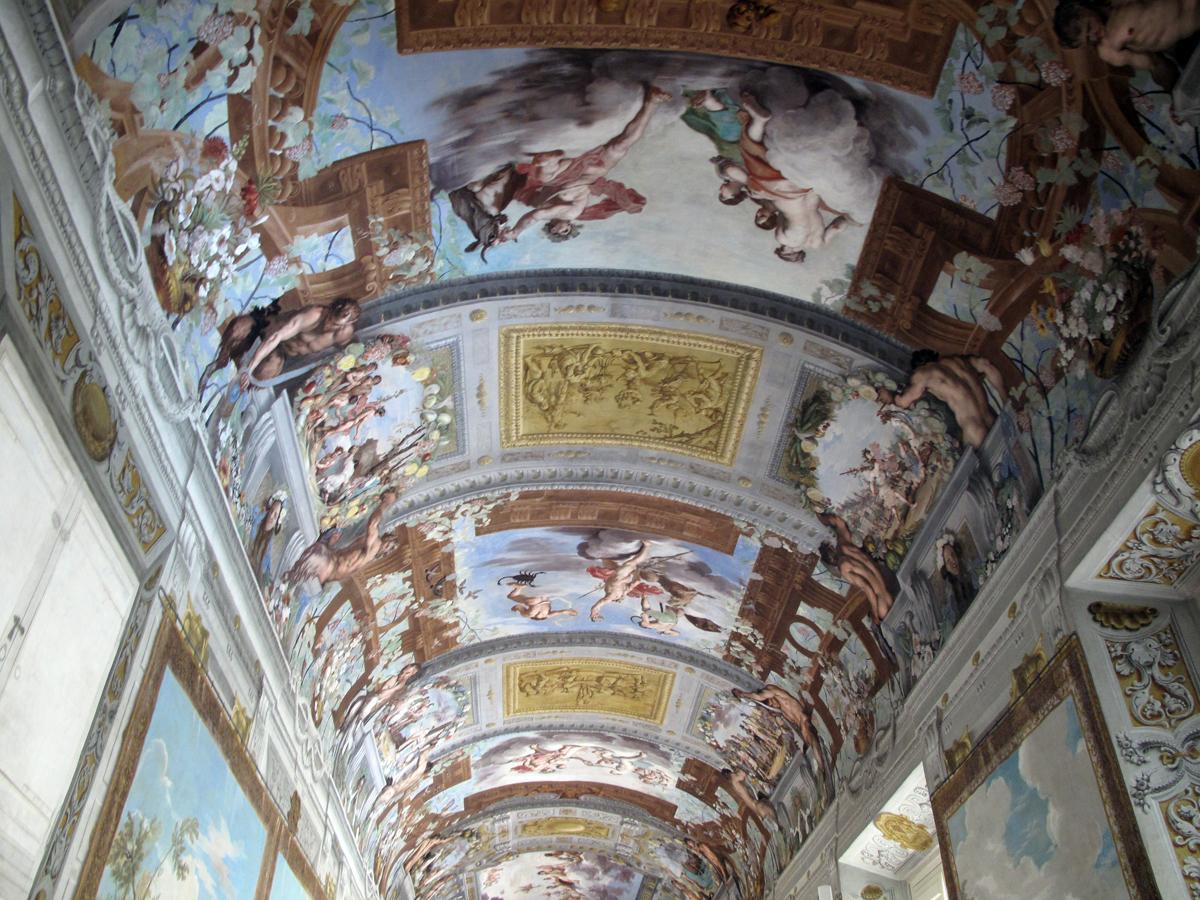 Volta della Galleria di Bacco - Palazzo Ducale di Sassulo | Photo Paola Gemelli
