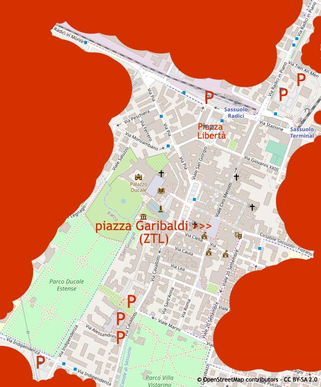 Dove parcheggiare a Sassuolo